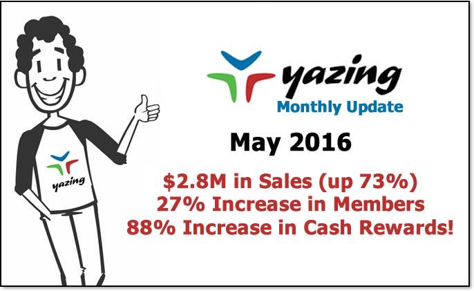 Yazing May 2016 Update