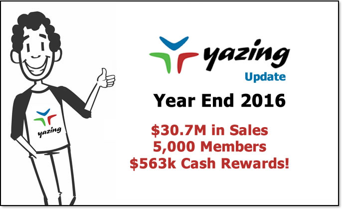 Yazing Crushes First Full Year!
