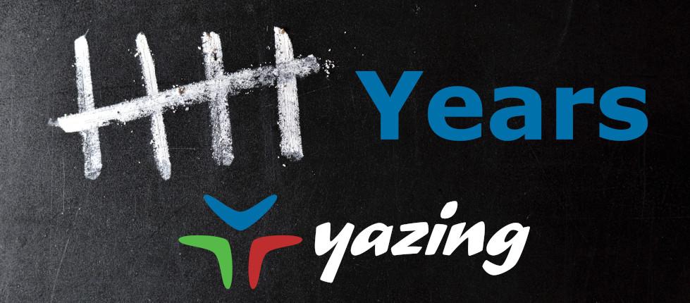 Yazing Celebrates 5 Years!